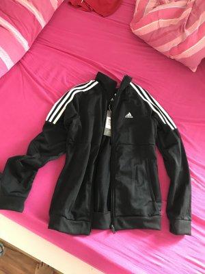 Adidas Sportjack wit-zwart