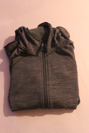H&M Giacca sport nero-grigio scuro