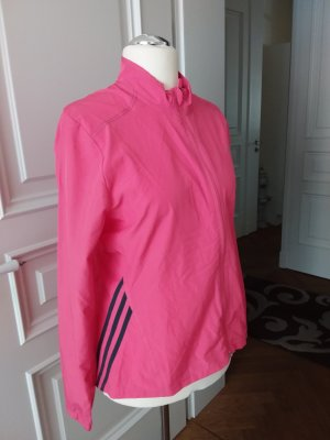 Adidas Sports Jacket pink synthetic fibre