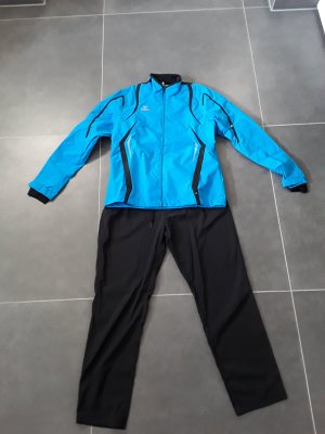 Erima Sports Jacket black-light blue polyester