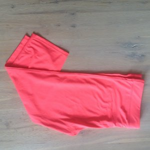 Sportlegging knielang Neonpink Workout