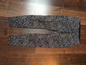 H&M Pantalon de sport blanc-noir