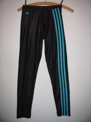 Sportleggings adidas schwarz blau