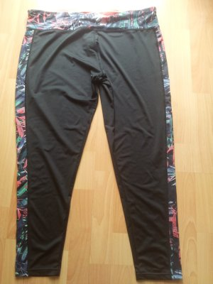 Sportleggings Gr. 48 schwarz bunt