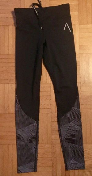Trackies black synthetic fibre
