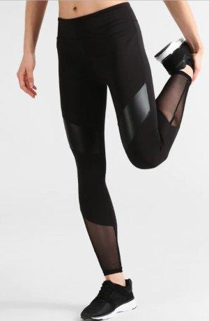 Even & Odd Pantalone da ginnastica nero