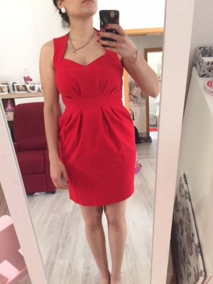 Pencil Dress red