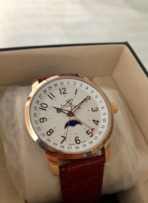 Sportlich-elegante Ingraham Armbanduhr
