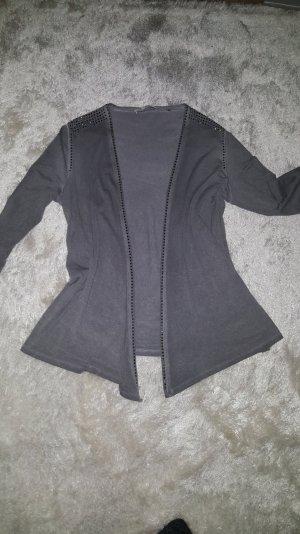 Sportlich elegante Jersey Jacke