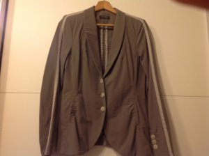 Apanage Tailleur pantalone marrone-grigio Tessuto misto