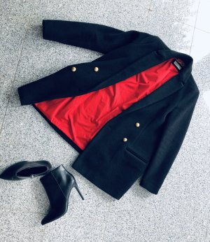 Esprit Short Coat black-dark red
