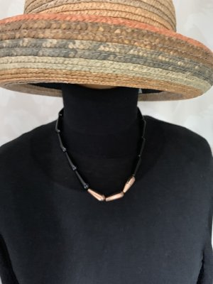 Pierre Lang Collier Necklace black-rose-gold-coloured