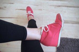 Sportlich schicke Wedges / Schnürhalbschuhe von Pepe Jeans kaum getragen