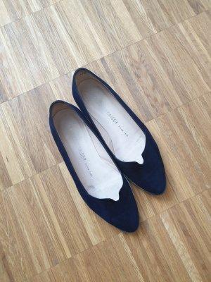Peter Kaiser Ballerinas white-dark blue