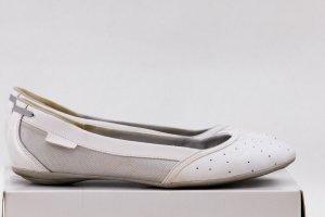 Puma Ballerinas white-silver-colored synthetic