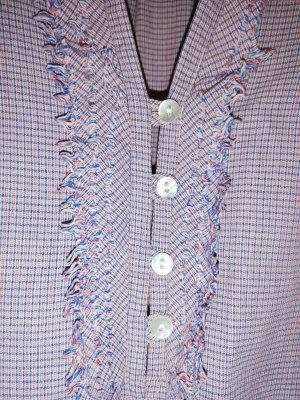 Sportliche Bluse/Hemd mit Fransen von BOGNER Gr 38. Wie neu.