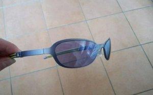Adidas Gafas de sol ovaladas amarillo-azul acero