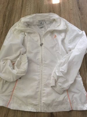 Adidas Outdoor jack wit-oranje