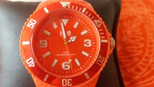 Ice watch Watch Clasp bright red synthetic material