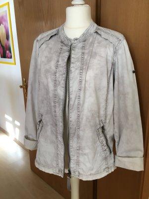 sportliche Jacke von Cecil in Vintage-Grau Gr. XL 46/48 TOP