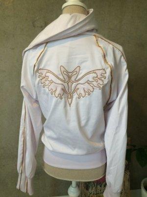 Sportliche Jacke von Puma in weiß und Gold