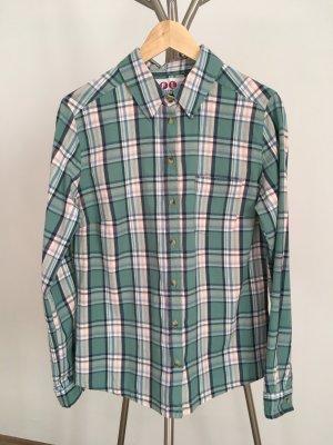 sportliche karierte Hemd-Bluse
