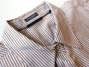 sportliche Kurzarm-Bluse