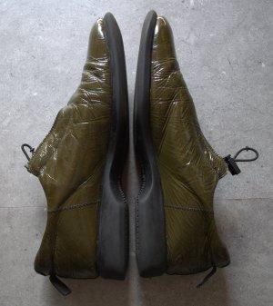 Sportliche Lackschuhe olivgrün von JOE SANCHEZ Größe 41