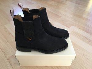 Gant Winter Booties black leather