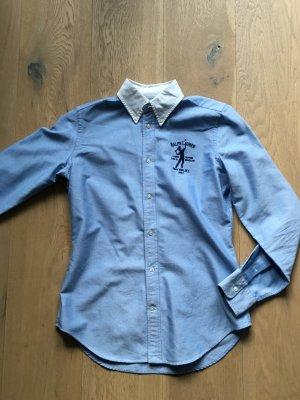 Sportliche Ralph Lauren Bluse Hemd Gr 36 S