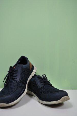 Sportliche Schuhe mit Memo Soft Sohle Rieker