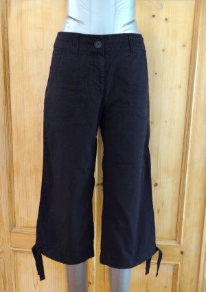 Sportliche Shorts, Bermudas von H&M, Gr. 36 - schwarz
