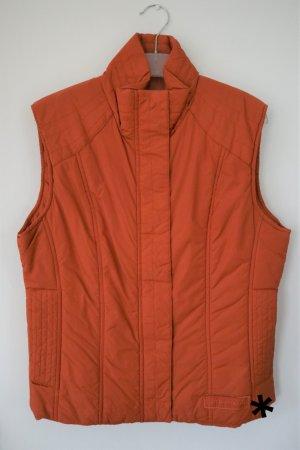 Tom Tailor Quilted Gilet orange-dark orange
