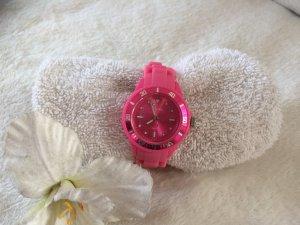 Sportliche Uhr in Rosa/Pink