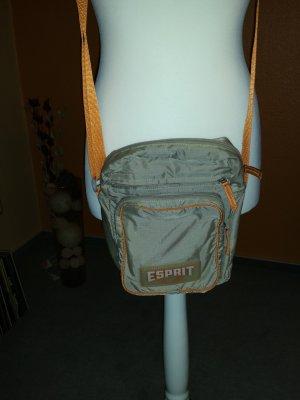 sportliche Umhängetasche von Esprit Beige/Orange