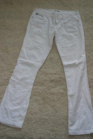 Sportliche weiße Jeans von MADONNA in Gr. 36