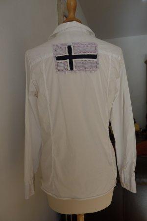 Sportliche weiße Napapijiri Bluse
