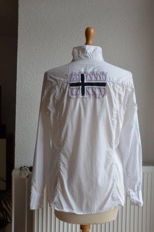 Sportliche weiße Napapijri Bluse