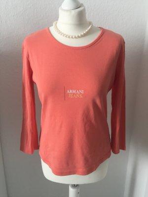 Sportlichen Armani Shirt mit ¾ Ärmel