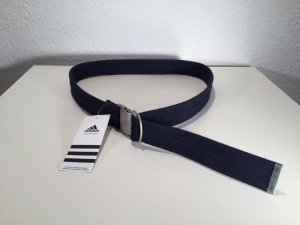 Adidas Cintura in tessuto argento-blu scuro