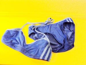 sportlicher aquafarbener Bikini von adidas