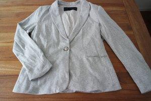 Sportlicher Blazer aus Baumwolle in hellgrau von Zara, nie getragen Größe 40