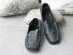 Tod's Pantoffels donkerblauw Leer