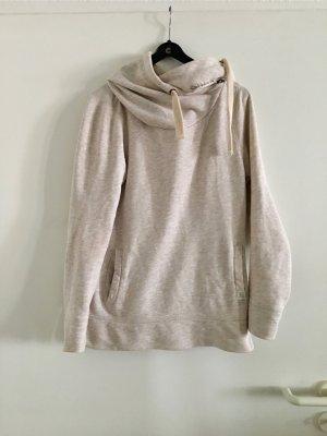 Sportlicher Hoodie Pullover Pulli Kapuzenpullover | Sweatshirt nude pastell