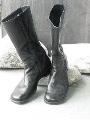 Paul Green Jackboots black leather