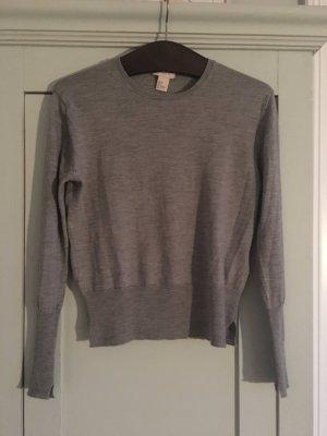 Sportlicher Merinowolle-Pullover mit Cashmere von H&M premium