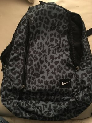 Nike Backpack silver-colored-black