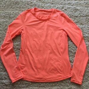 T-shirt de sport orange fluo-saumon