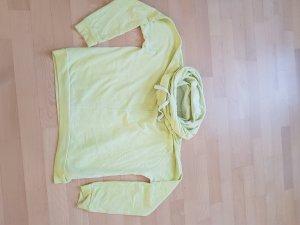 Better Rich Suéter amarillo-verde pálido Algodón