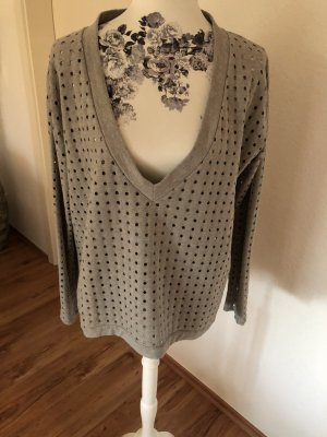 81hours V-Neck Sweater light grey